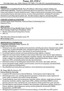 pediatric nurse practitioner residency nurse practitioner cv