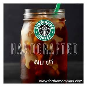 Starbucks Handcrafted Beverages - 50 starbucks handcrafted beverage members only