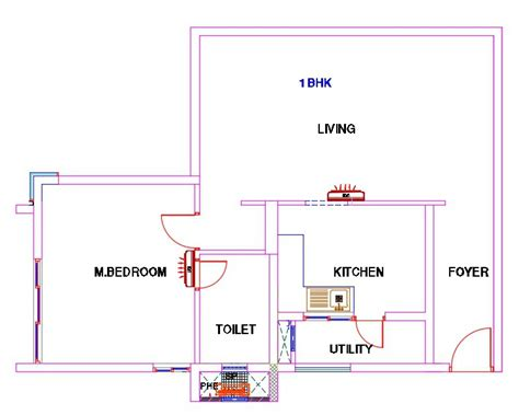 Bhk Means | what is 1 bhk 2 bhk 3 bhk 0 5 bhk in a flat layout