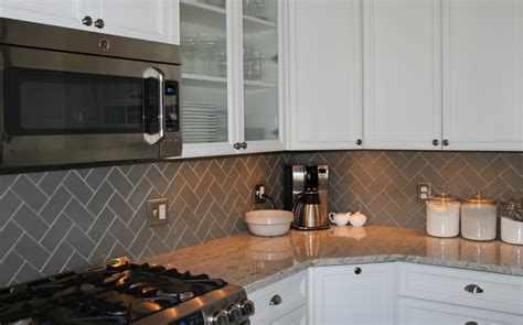 herringbone kitchen backsplash tile stone warehouse idea gallery