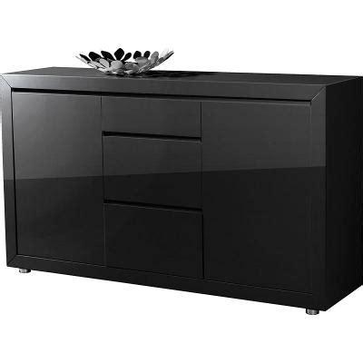 esszimmer server sideboards neu edles sideboard in hochglanz schwarz lackiert