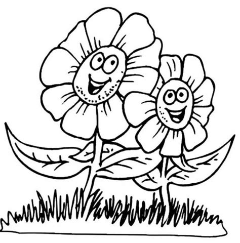 coloring pictures of large flowers download big flower coloring pages download big flower