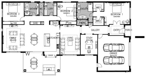 small luxury floor plans executive house plans