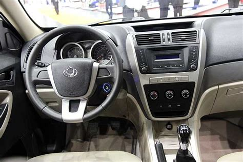 Geely Emgrand Interior by Geely Emgrand X7