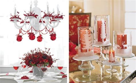 centerpieces for christmas party tables home design