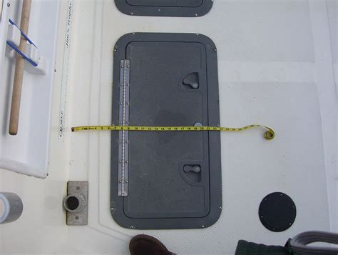 waterproof boat deck hatches the hull truth boating and fishing forum view single