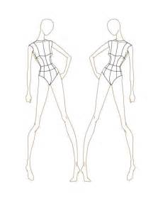 fashion sketch templates thinkitpink