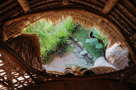 unusual places  stay  ubud bali  bamboo nest