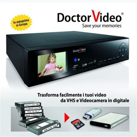da cassetta a dvd doctor salva i tuoi ricordi e conservali per sempre