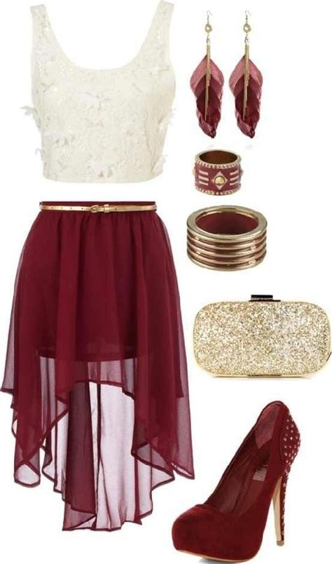 wine colored skirt wine colored high low skirt beautiful clothing and shoes