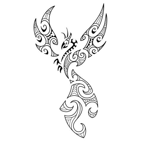 phoenix tribal tattoo tattoos designs ideas and meaning tattoos for you