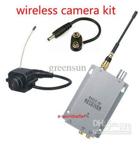 new mini wireless spy camera hidden cam security kit