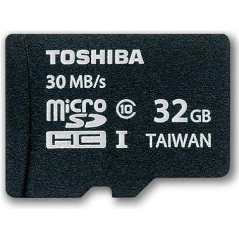 Memory Card Microsd 32gb Class 10 toshiba 32gb microsdhc class 10 uhs i flash memory cards alex nld