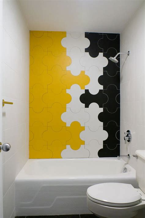 Yellow And White Bathrooms by 33 Yellow And White Bathroom Tiles Ideas And Pictures