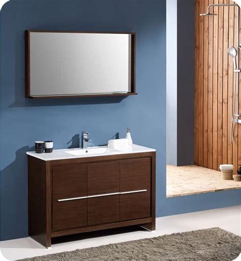 fresca fvn8148wg allier 48 quot modern bathroom vanity with
