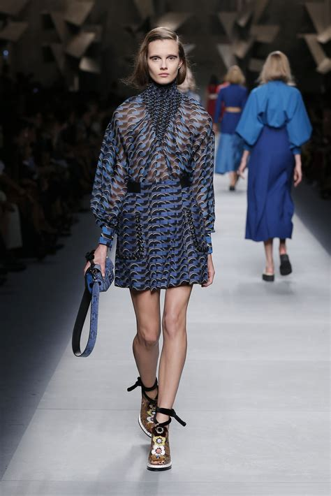 Fashion Week Fendi by Fendi Summer 2016 S Collection The Beep