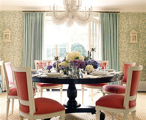 Dining Room Pink And Green Pastel Interior Design That Takes The Cake