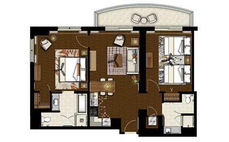 hilton hawaiian village lagoon tower floor plan grand waikikian 2 bedroom premier everdayentropy com