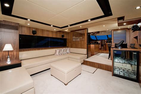 Cool Boat Interiors by Fairline 78 Custom Consulyachts