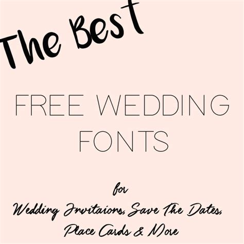Wedding Menu Font Free by Free Downloads The Wedding Of My Dreams