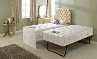 Plans For Twin Over Full Bunk Beds by Luxury Upholstered Double Guest Bed Trundle Kandu Furniture
