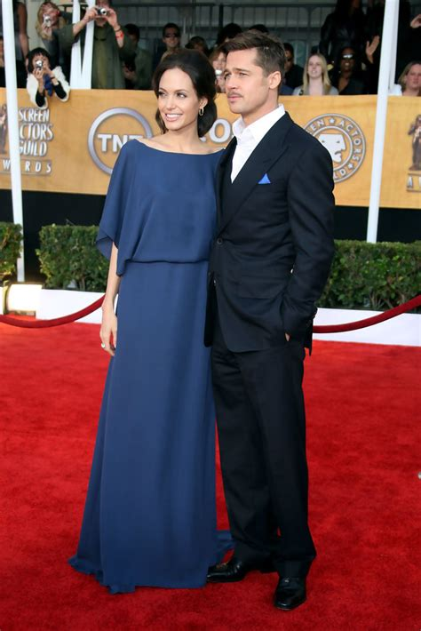 Pitt To Skip Sag Awards by January 2009 Stylish Couples Brad Pitt And