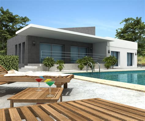 modern villa house plans new home designs modern villa designs