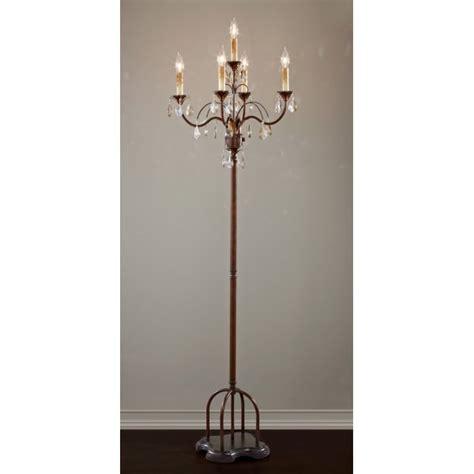 Victorian Chandeliers Uk Candelabra Chandelier Style Floor Lamp In Dark Metal With