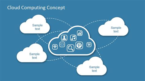 themes for cloud computing ppt cloud computing concept design for powerpoint slidemodel