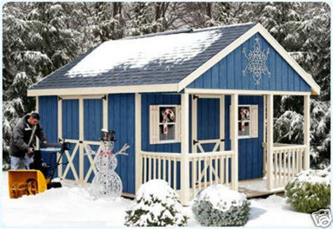 storage shed kit wood barn kit diy fairview