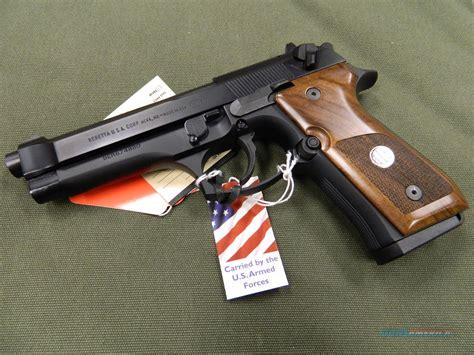 beretta 92fs wood grips beretta 92fs trident with wood grips for sale