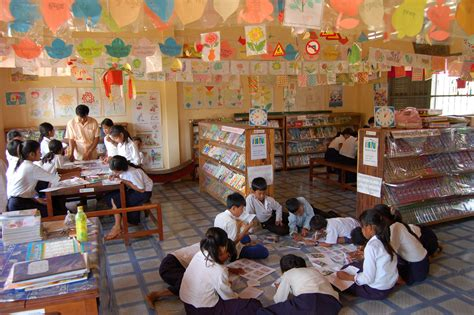 Room To Read by School Library In Cambodia A Desire And Quest To Build A