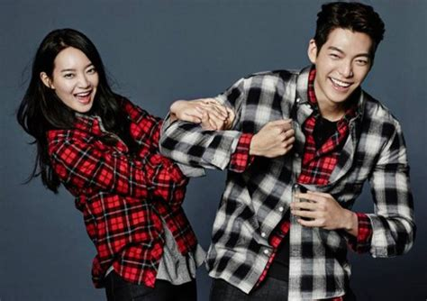 so ji sub pacar 2018 kim woo bin and shin min ah for giordano f w 2015