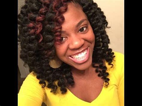 pre curl marley hair pre dipped curled crochet braids w marley hair part 1