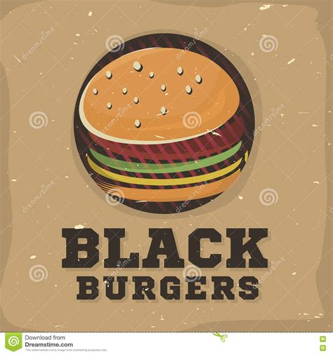 how to create an elegant red burger logo with aaa logo creative logo design with burger vector illustration