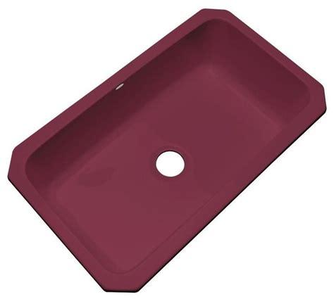 thermocast kitchen manhattan undermount acrylic 33x19 5x9