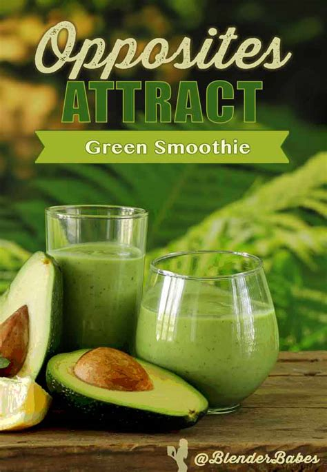 Detox Green Smoothie Without Banana by Opposites Attract Spicy Sweet Green Smoothie Without Banana