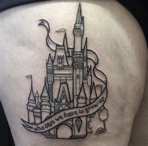 castle tattoo designs 33 exquisite disney castle designs tattooblend