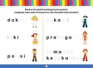 Buku Anak Mulai Mengenal Huruf Besar Dan Kecil cara menulis huruf bersambung