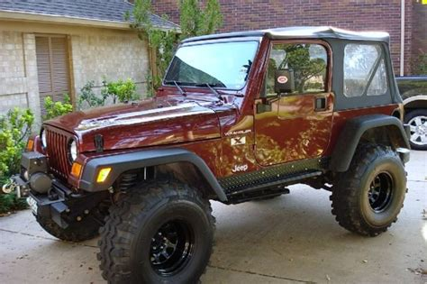 jeep custom paint jeep wrangler 1988 factory paint jeep wrangler custom