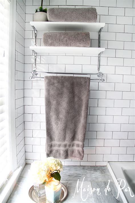 decorative bath towel storage complete your bathroom with storage for towel homesfeed