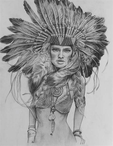 native american headdress tattoo indian headdress drawing american