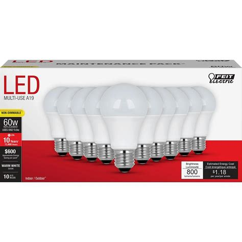 led light bulbs at home depot trending in the aisles multi pack led light bulbs by feit