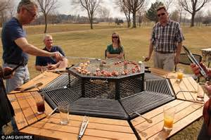 the barbecue picnic table that means everyone can play