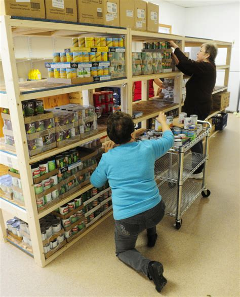 Food Pantry Maine by Belgrade Rome Food Pantry Out Of Basement Into