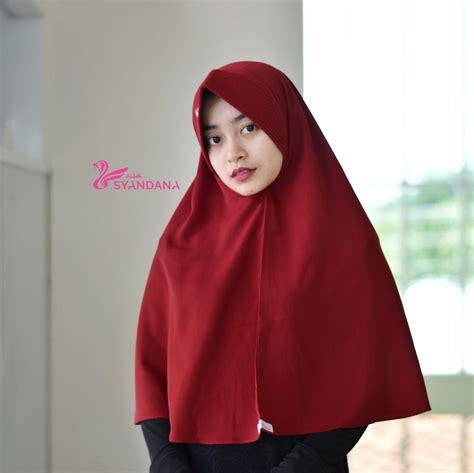 Jilbab Syari jual jilbab bergo murah syar i 21 syandana