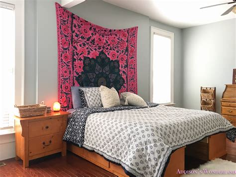 boho chic bedroom a surprise budget boho chic bedroom makeover