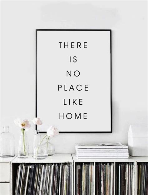home decor places there is no place like home home decor typography