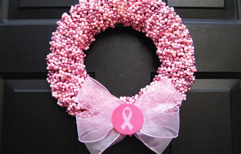 Breast Cancer Awareness Decoration Ideas Something Pink For The Charitable Bride Breast Cancer