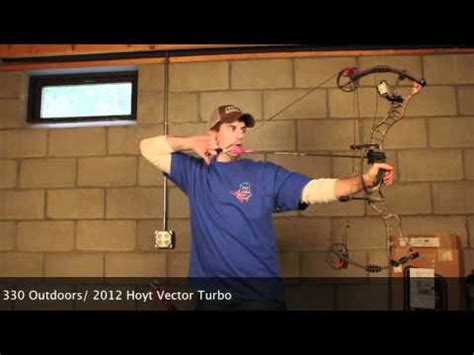 2012 hoyt vector turbo review youtube
